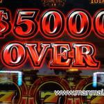 GOD神々の凱旋で5,000枚達成の動画を公開