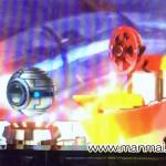 トランスフォーマーの赤フィルム+ゼブラ柄が出て外れる
